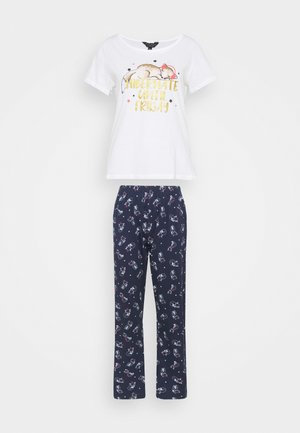 HIBERNATING FOX NOVELY FOLDED SET - Pigiama - navy