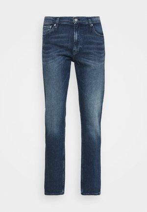 STRAIGHT FIT - Straight leg jeans - denim dark