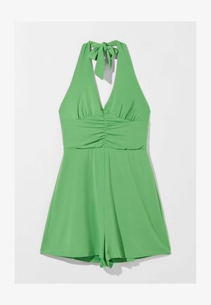 FLOWING  WITH TIED BOW AT THE NECK  - Jumpsuit - green