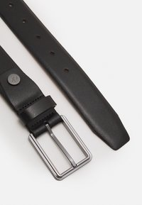 Calvin Klein - TWO FINISH BUCKLE - Belt - black - 1