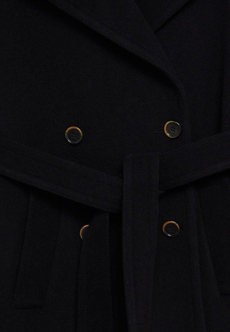 Mango TRINI - Wollmantel/klassischer Mantel - schwarz YqYDOt