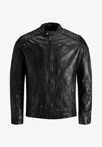 Jack & Jones - Leather jacket - black - 6