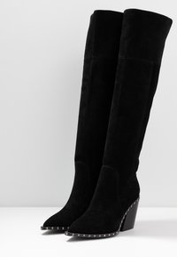 Alma en Pena - Over-the-knee boots - black