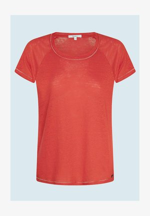 AMIRA - Basic T-shirt - mars rot