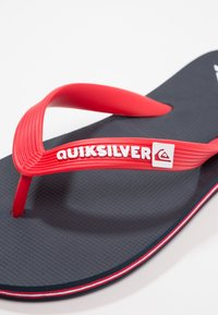 Quiksilver - Pool shoes - blue/red - 2