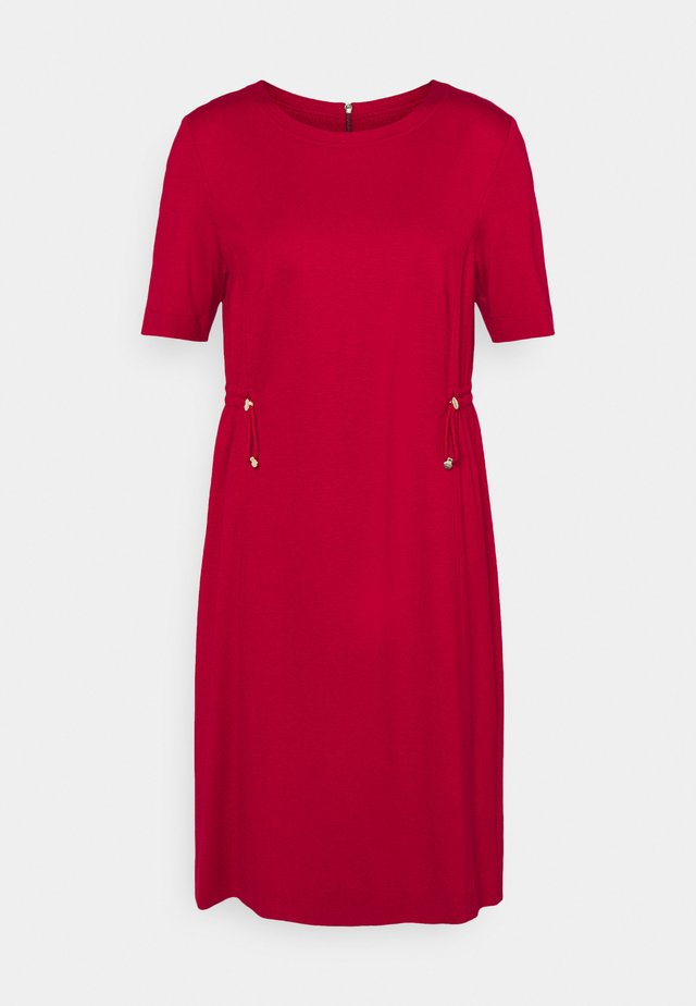 Vestido de tubo - burgundy