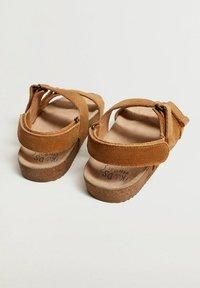 Mango - Sandals - mittelbraun - 2