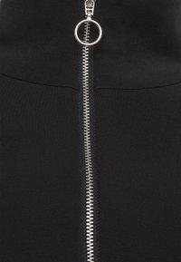 Selected Femme - SLFTENNY - Top sdlouhým rukávem - black - 2