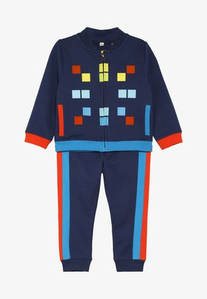 SPACE INVADER PIXEL TRACKSUIT BABY - Zip-up hoodie - navy
