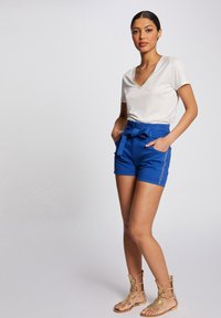 Morgan - Shorts - bleached denim - 1