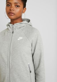 Nike Sportswear - Sudadera con cremallera - grey heather/white - 3
