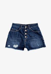 Roxy - LAGOS CLIFF - Denim shorts - dark indigo - 4