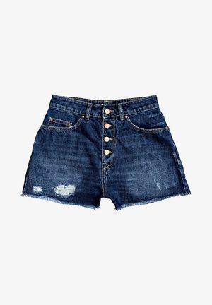LAGOS CLIFF - Denim shorts - dark indigo