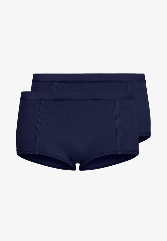 EASY EMMA 2 PACK - Pants - navy