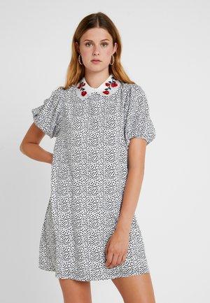 DOZEN COVEN DRESS - Korte jurk - black/white