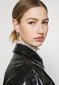 Weekday - KEISHA  - Button-down blouse - black - 3