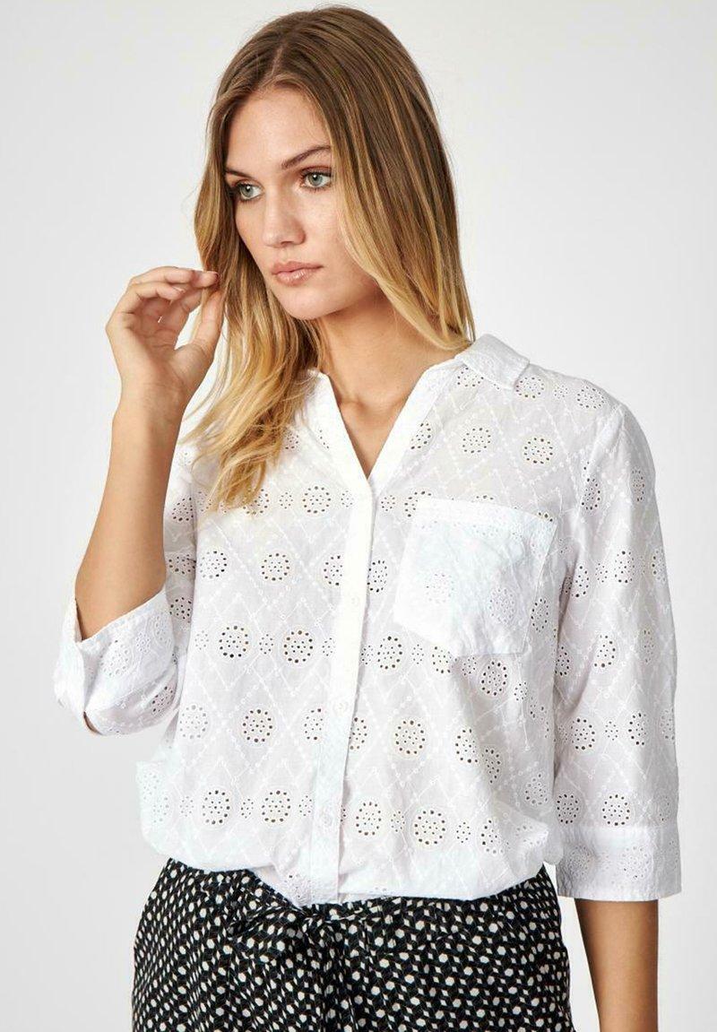 Soyaconcept - SC LANI - Button-down blouse - offwhite