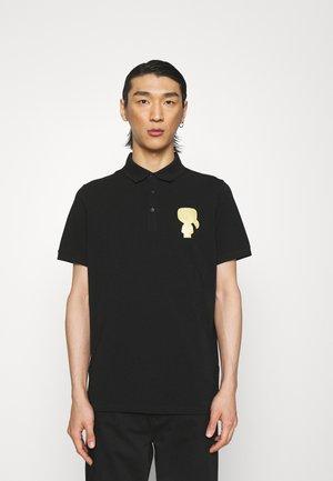 Polo shirt - black/gold