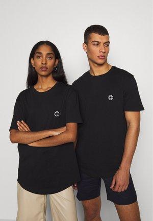 UNISEX - Printtipaita - black