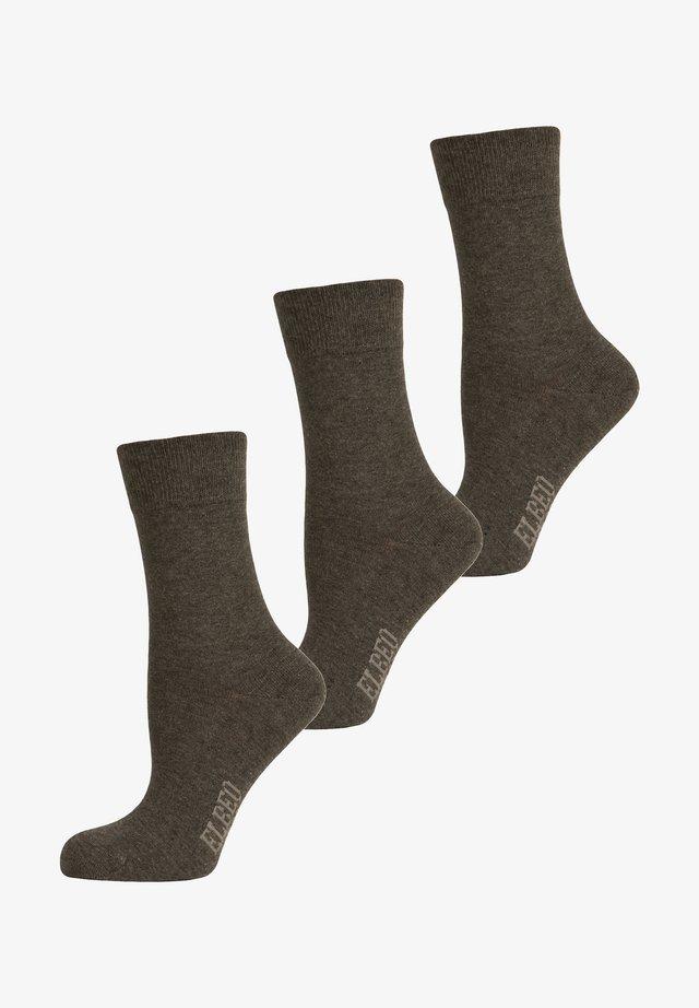 3 PACK - Sokken - anthra melange