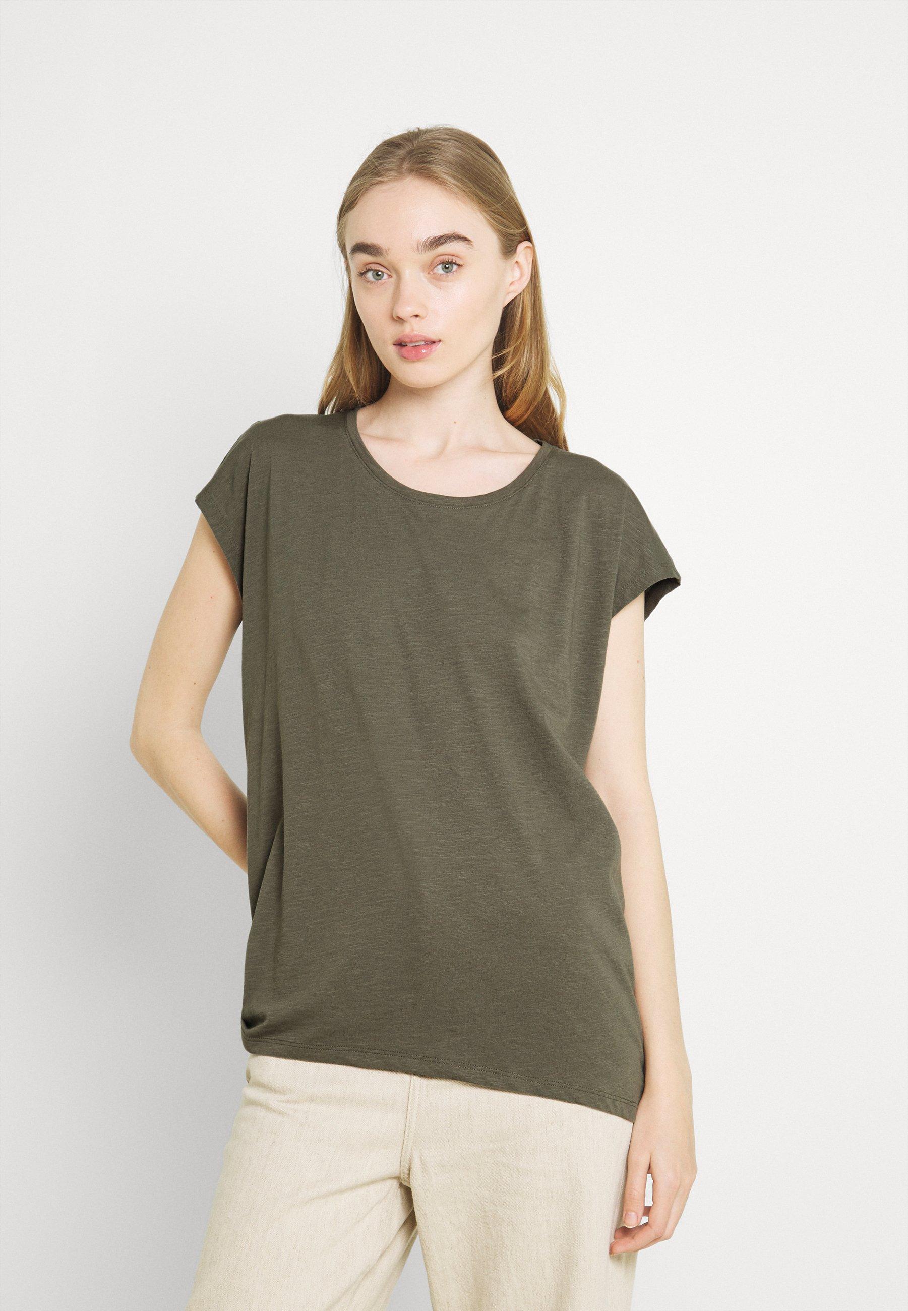 Women NMMATHILDE LOOSE LONG  - Basic T-shirt