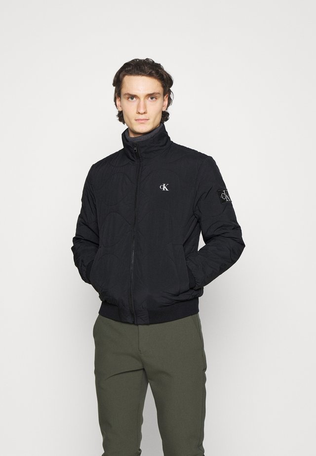 QUILTED JACKET - Jas - black