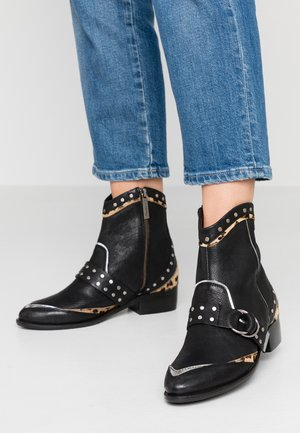 CHISWICK ROCK - Cowboy/biker ankle boot - black