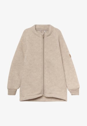 JACKET - Fleece jacket - melange off-white