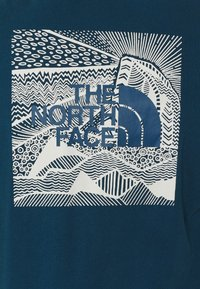 The North Face - REDBOX CELEBRATION TEE - T-shirt con stampa - monterey blue - 5
