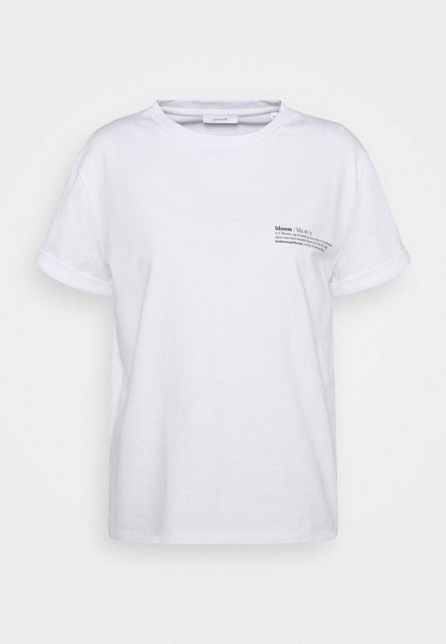 SERZ BLOOM - T-shirt imprimé - white