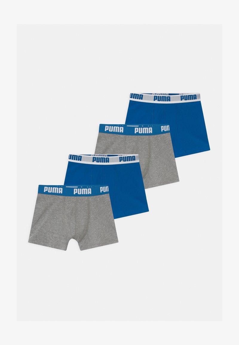 Puma - BOYS BASIC 4 PACK - Pants - blue/grey