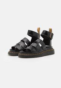 Dr. Martens - VEGAN CLARISSA  - Sandály na platformě - black oxford - 2