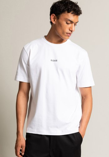 TCHUP - Basic T-shirt - white
