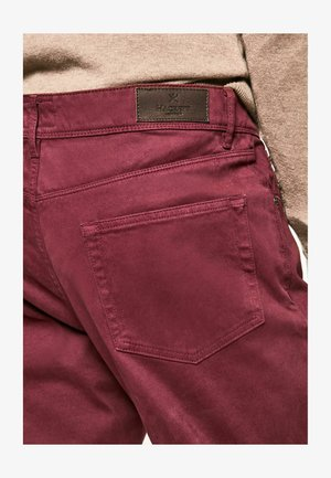 Trousers - oxblood