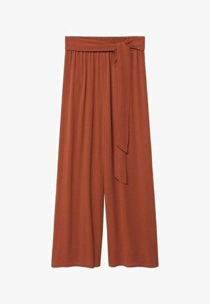Trousers - arancione tostato