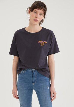 DISNEY - T-shirt imprimé - anthracite