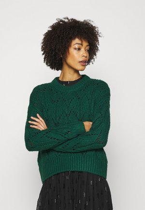 POINTELLE  - Jumper - dark teal green