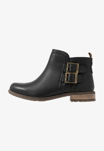 SARAH LOW BUCKLE  - Ankle boots - black