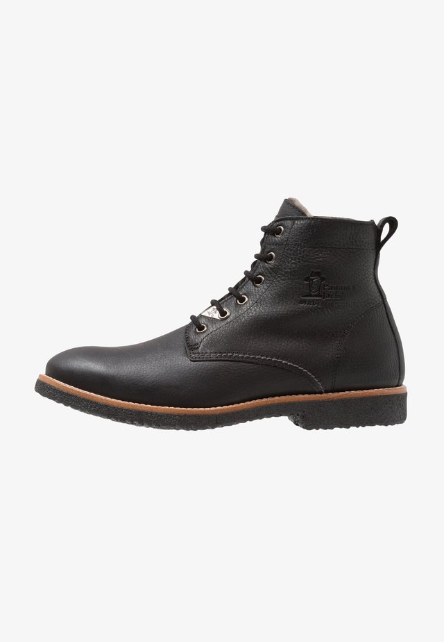 GLASGOW IGLOO - Schnürstiefelette - black