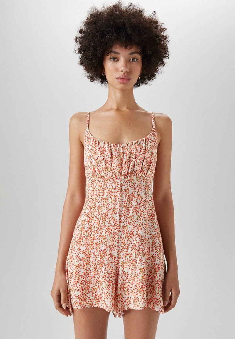 PULL&BEAR - Jumpsuit - orange