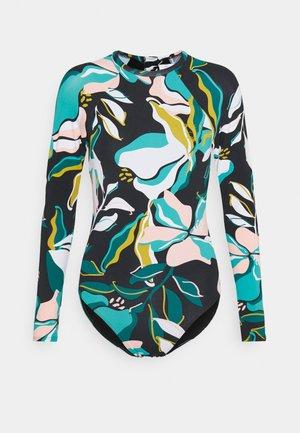 BEACH CLASSICS ONESIE - Swimsuit - anthracite paradiso
