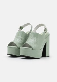 Jeffrey Campbell - Platform sandals - mint green - 2