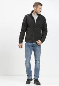 Whistler - DUBLIN - Soft shell jacket - black - 1