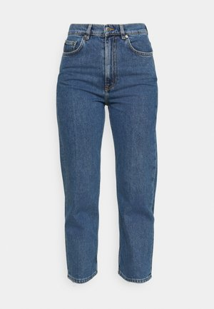 Relaxed fit jeans - washed blue