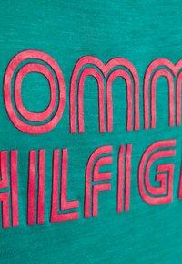 Tommy Hilfiger - POP TANK DRESS SHORT - Nightie - calypso green - 5