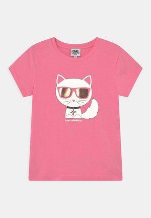 SHORT SLEEVES TEE - T-Shirt print - pale pink