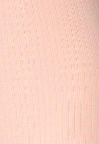 Missguided - TIE WAIST SET - Leggings - Trousers - nude pink - 7