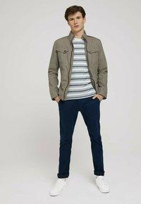 TOM TAILOR - BIKER - Light jacket - coastal fog beige - 1