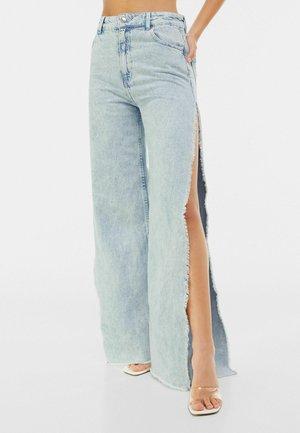 WIDE LEG - Široké džíny - light blue
