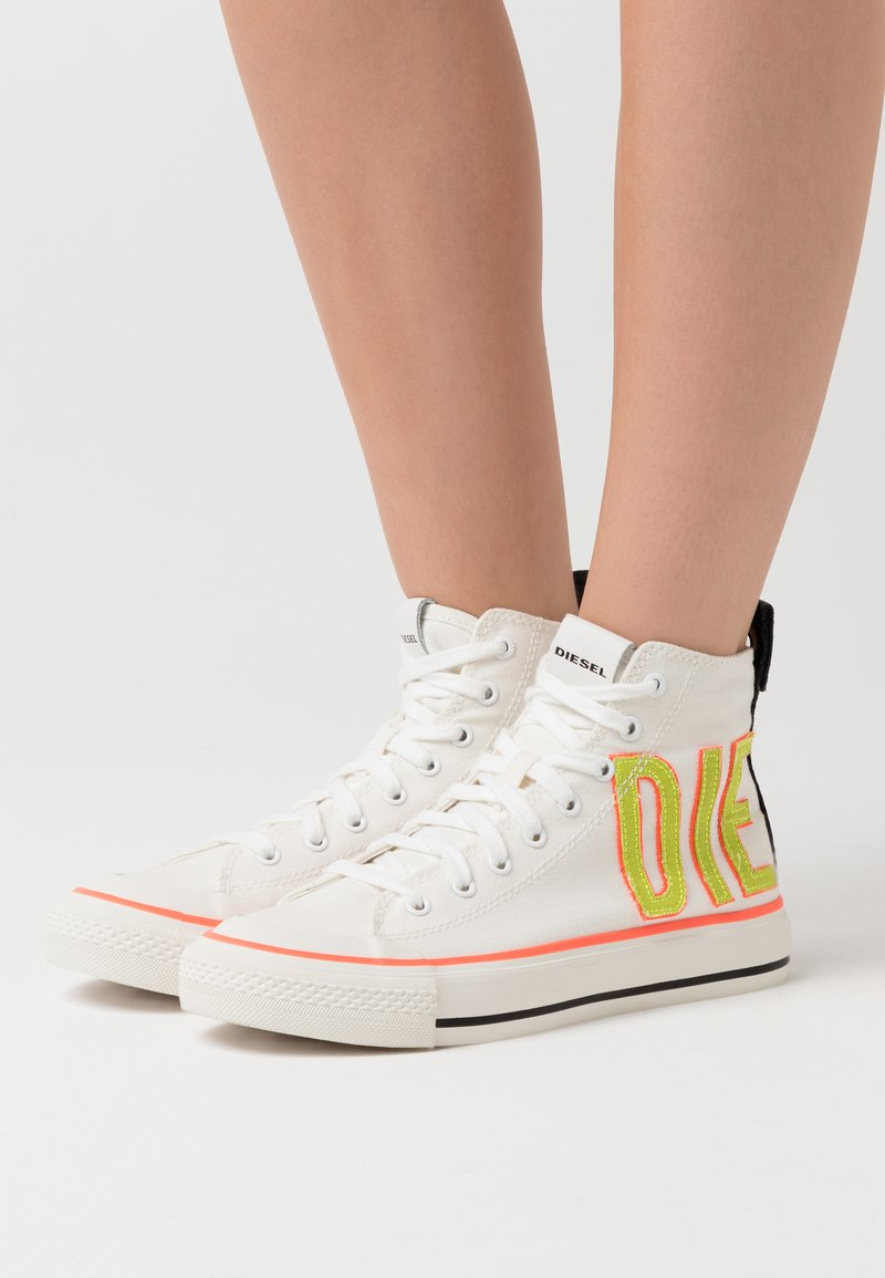 Diesel - ASTICO S-ASTICO MCE W SNEAKERS - High-top trainers - white